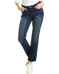 NYDJ Sheri Pilar Slim Leg Jean - Blue