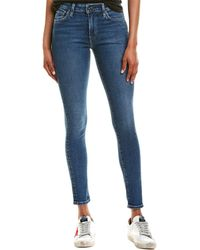 Levi's Made & Crafted 721 Blue High-rise Skinny Leg