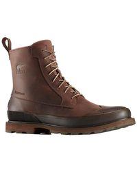 Sorel Madson Wingtip Boot - Brown