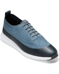 Cole Haan 2.zerogrand Oxford - Blue