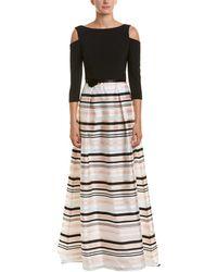 THEIA - Silk-blend Gown - Lyst