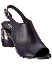 Kenneth Cole - New York Lovelle Leather Sandal - Lyst