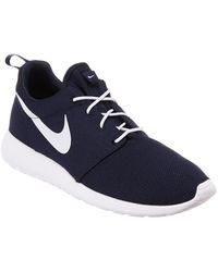 49175ef7fc30c Lyst - Nike Roshe Run - Men s Nike Roshe Run Trainers
