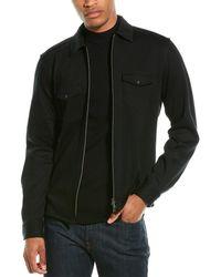 Corneliani Zipper Over Shirt - Black