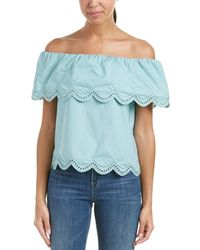 Sugarlips Lace Top - Blue