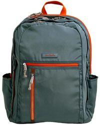 Vera Bradley - Mineral Blue Lighten Up Grand Backpack - Lyst