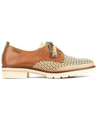 Pikolinos Sitges W7j Leather Casual Shoe - Multicolor