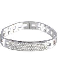 Damiani 18k 3.26 Ct. Tw. Diamond Bracelet - Metallic