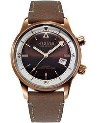 Alpina Seastrong Diver 300 Heritage Watch - Multicolour