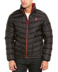Spyder Pelmo Down Puffer Jacket - Black