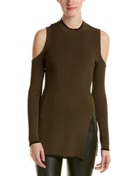 Romeo and Juliet Couture Cold-shoulder Tunic - Multicolour