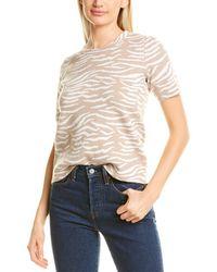 Premise Studio Zebra Sweater - Brown