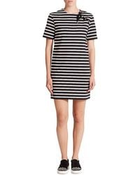Marc By Marc Jacobs - Jacquelyn Striped Lace-up Dress - Lyst