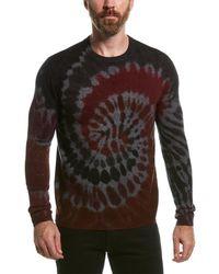 Autumn Cashmere Tie-dye Wool & Cashmere-blend Crewneck Sweater - Multicolour