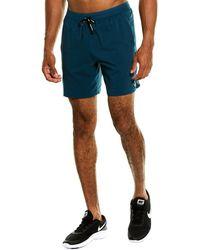 Nike Dri-fit Flex Stride 18cm (approx.) 2-in-1 Running Shorts - Blue
