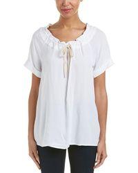 G.H.BASS - Woven Drawstring Shirt - Lyst