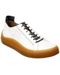 Fly London Sate Leather Sneaker - White