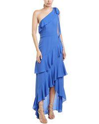 Parker Black Gown - Blue