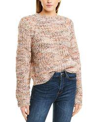 Joie Danniello Wool-blend Sweater - Pink