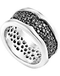 Stephen Webster - Men's Silver Black Sapphire 3.26 Ct.tw. Ring - Lyst