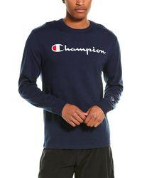 Champion Life Heritage T-shirt - Blue