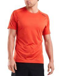 2XU Ghst S/s T-shirt - Red