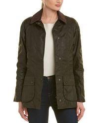 Barbour Beadnell Wax Jacket - Green