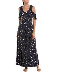 Cotton Candy - Cold-shoulder Maxi Dress - Lyst