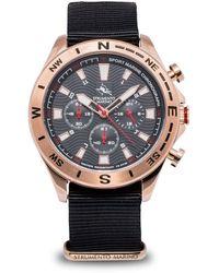 Strumento Marino Sport Marine Chronograph Nylon Watch - Multicolour