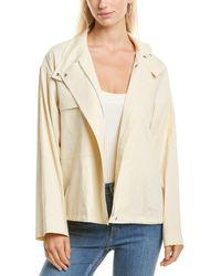 Theory Utility Wool-blend Anorak Jacket - White