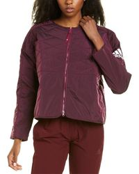 adidas Z.n.e Padded Jacket - Red