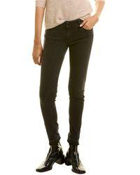 Maje Anthracite Low-rise Skinny Jean - Black