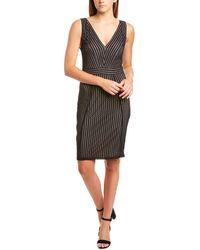 BCBGMAXAZRIA Lace Cocktail Dress - Black