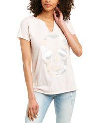 Zadig & Voltaire Tunisien Mc Camo T-shirt - Pink