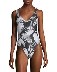 L*Space - L' Printed One-piece Swimsuit - Lyst
