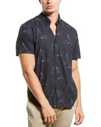 Billy Reid Tuscumbia Regular Fit Shirt - Blue