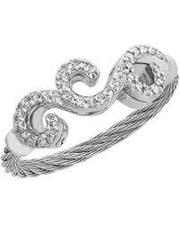 Alor Classique 18k 0.15 Ct. Tw. Diamond Ring - Metallic