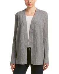 Magaschoni Wool & Cashmere-blend Cardigan - Grey