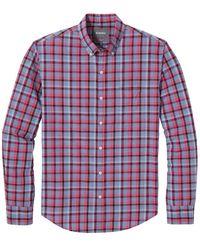 Bonobos Washed Button Shirt - Red
