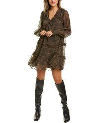 Walter Baker Gabriella Mini Dress - Brown