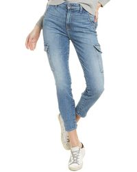 7 For All Mankind 7 For All Mankind Sloane Vintage Skinny Cargo Pant - Blue