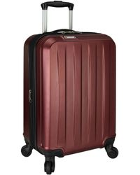 Elite Luggage Dori Expandable Carry-on Spinner Luggage - Multicolor