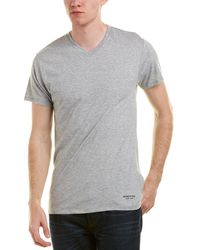 Kenneth Cole - 3pk Of Crewneck T-shirts - Lyst
