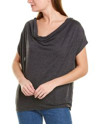 Chaser Cowl Top - Black