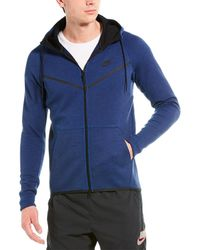 Nike Tech Fleece Windrunner Jacket - Blue