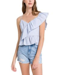 English Factory Top - Blue