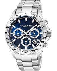 Stuhrling Original Men's Monaco Watch - Multicolour