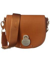 Longchamp Cavalcade Leather Crossbody - Brown