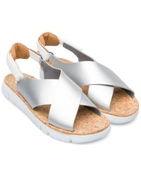 Camper Oruga Sandal Leather Sandal - Multicolour