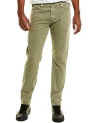 AG Jeans Everett Light Green Slim Straight Leg